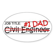 Job Dad Civil Eng Decal