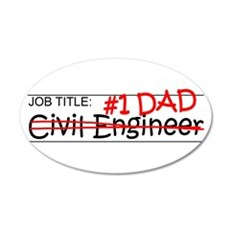 Job Dad Civil Eng Wall Decal