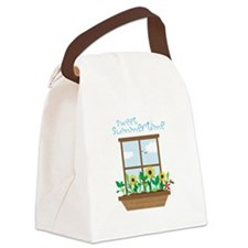 sweet summer time Canvas Lunch Bag