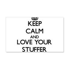 Keep Calm and Love your Stuffer Wall Decal