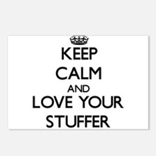 Keep Calm and Love your Stuffer Postcards (Package