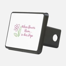 Where flowers bloom...so does Hope Hitch Cover
