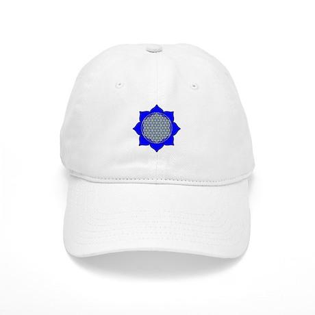 Lotus Blue4 Cap