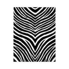 Zebra Print Twin Duvet