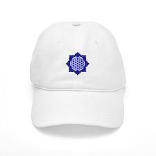 Lotus Blue6 Baseball Cap