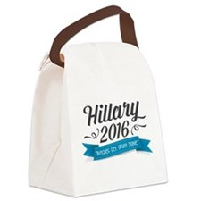 "Hillary 2016 ""Bitches Get Stuff Done"" Canvas Lunch"