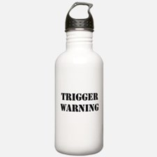 Trigger Warning Water Bottle