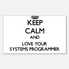 Keep Calm and Love your Systems Programmer Decal