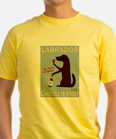 Labrador Chocolate Stout T-Shirt