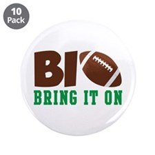 """BRING IT ON 3.5"""" Button (10 pack)"""