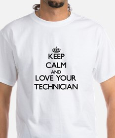 Keep Calm and Love your Technician T-Shirt
