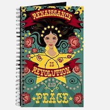 Renaissance Is Revolution Journal In Rebel Colors