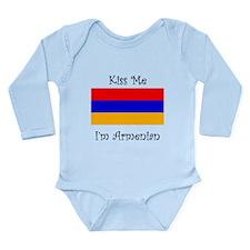 Kiss Me Im Armenian Body Suit