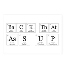 Back that Ass Up [Chemical Elements] Postcards (Pa