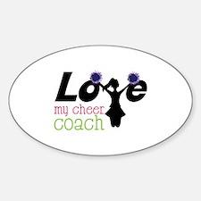 Love my cheer coach Decal
