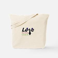 Love my cheer coach Tote Bag