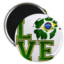 Love Brazilian Football! Magnet