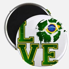 Love Brazilian Football! Magnet