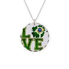 Love Brazilian Football! Necklace