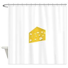 Swiss Cheese Shower Curtain