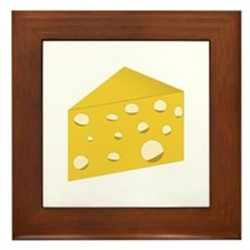 Swiss Cheese Framed Tile