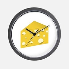 Swiss Cheese Wall Clock
