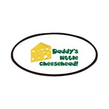 Daddy's little cheesehead! Patches