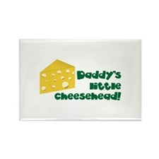 Daddy's little cheesehead! Magnets