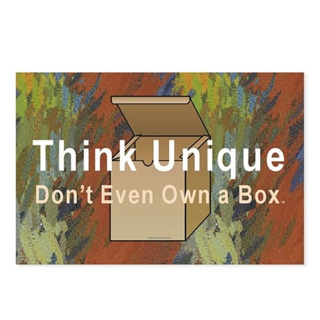 Think Unique Postcards (Package of 8)