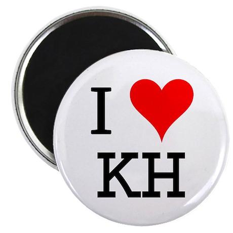 I Love KH Magnet