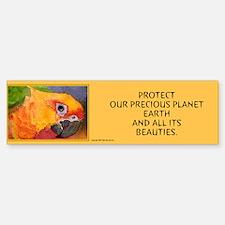 """PROTECT OUR PRECIOUS PLANET""""... Bumper Bumper Bumper Sticker"""