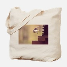 Flight of the Titmouse Tote Bag
