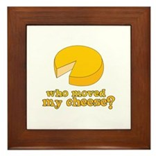 who moved my cheese? Framed Tile