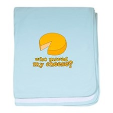 who moved my cheese? baby blanket