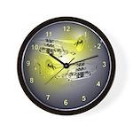 Modern Trumpet Wall Clock