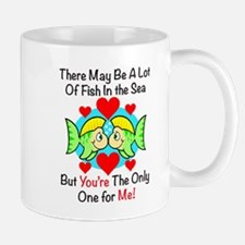 Kissing Fish Mugs