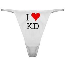 I Love KD Classic Thong