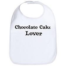 Chocolate Cake lover Bib