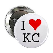 I Love KC Button
