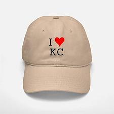 I Love KC Baseball Baseball Cap