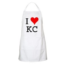 I Love KC BBQ Apron