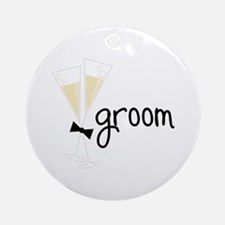 groom Ornament (Round)