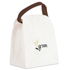 groom Canvas Lunch Bag