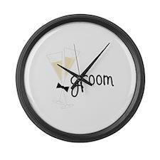 groom Large Wall Clock