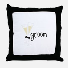 groom Throw Pillow