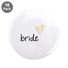 "bride 3.5"" Button (10 pack)"