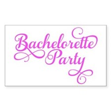 Bachelorette Party pink Decal