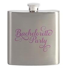 Bachelorette Party pink Flask