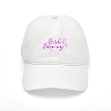 Brides Entourage pink Baseball Cap