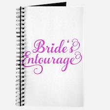 Brides Entourage pink Journal